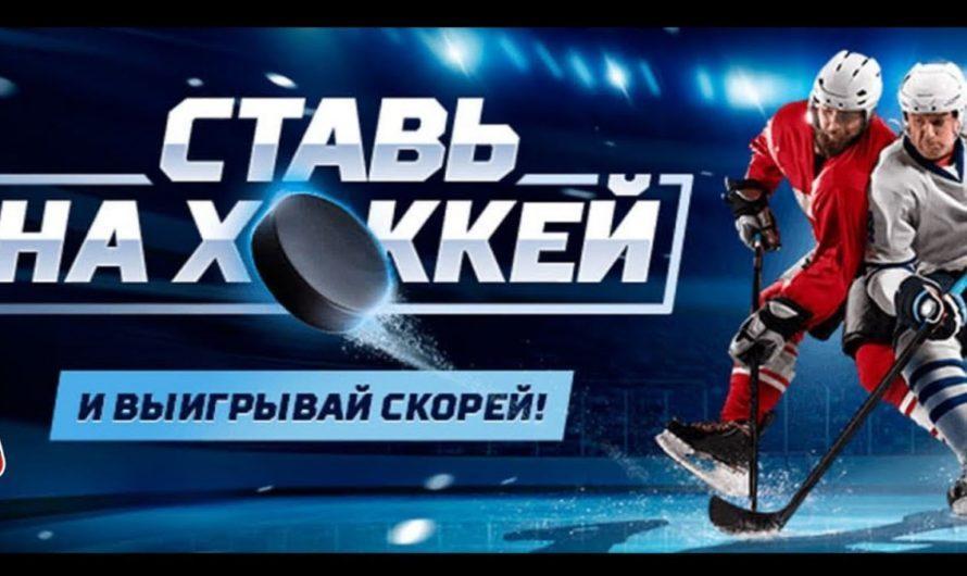 Ставки на хоккей: виды и особенности